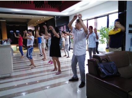 广陶7月份销售目标启动大会
